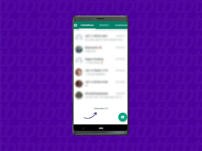 Como ver conversas arquivadas no WhatsApp