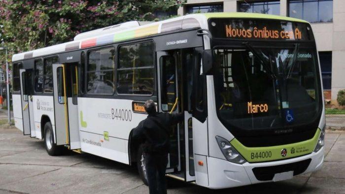 Novos ônibus Rio