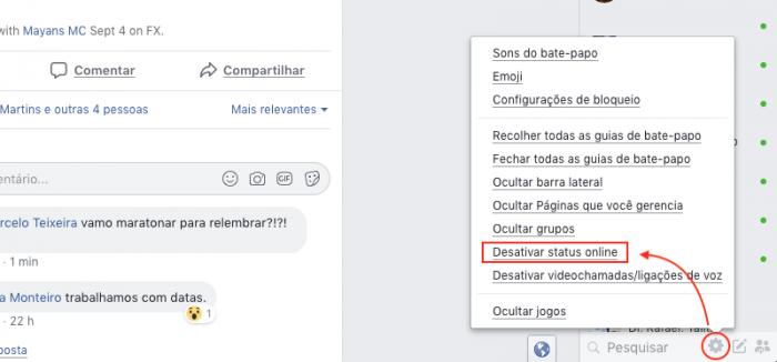 Bate-Papo Facebook Offline