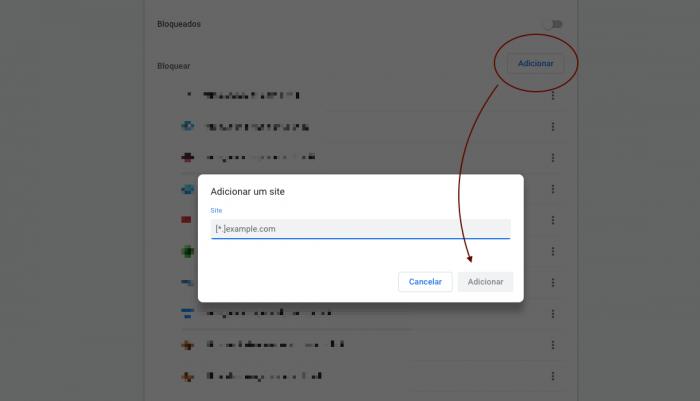 Bloquear Notificações Chrome