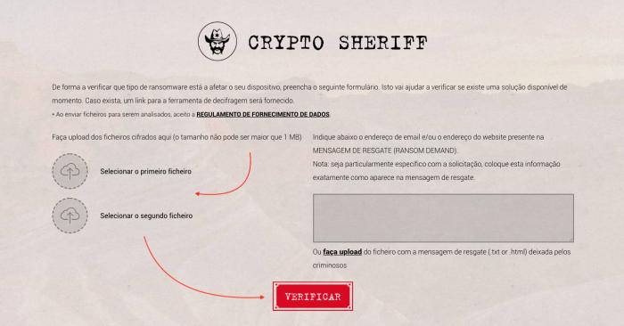 Crypto Sheriff Ransomware Decryptor