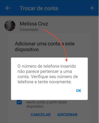 Messenger sem Facebook