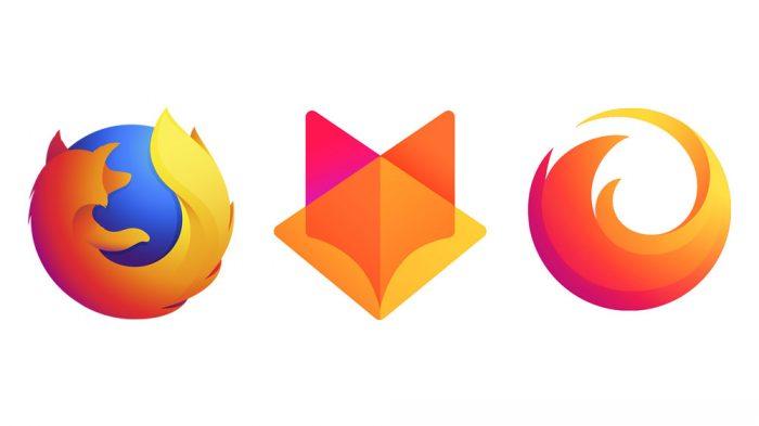 Propostas da Mozilla para novo logotipo do Firefox