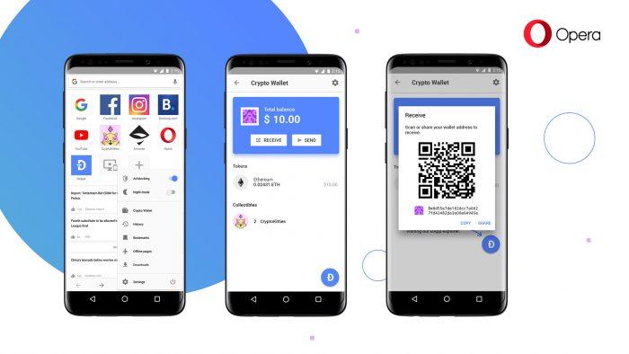 Opera para Android terá carteira digital