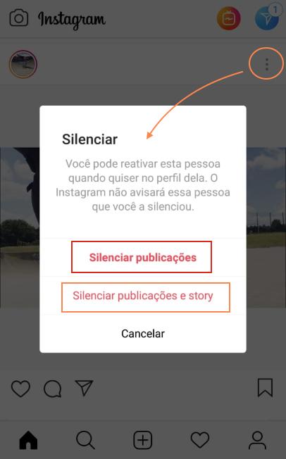 Silenciar Stories Instagram