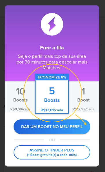 Tinder Boost App