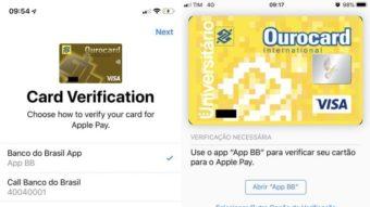 Apple Pay já permite adicionar cartões de crédito do Banco do Brasil