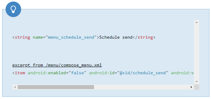 Gmail para Android prepara la función para programar el envío de correos electrónicos 1