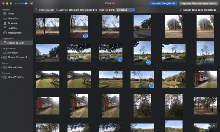 Using the Quick Action to convert HEIC images to JPG
