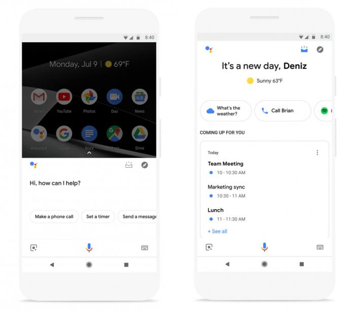 El Asistente de Google obtiene tarjetas predictivas con un resumen de su día. 1