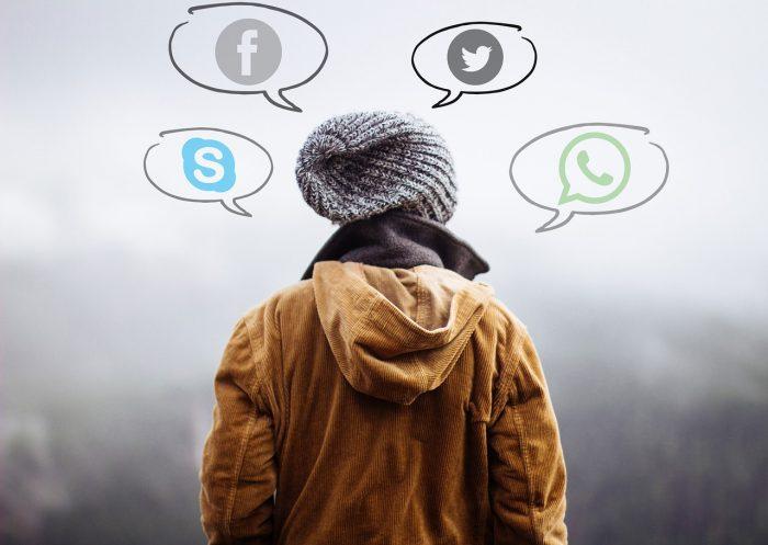 WhatsApp - Facebook - Skype - Twitter - Messenger / Pixabay