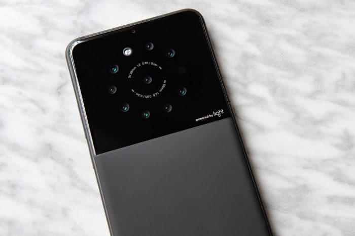 Protótipo - smartphone Light com nove câmeras