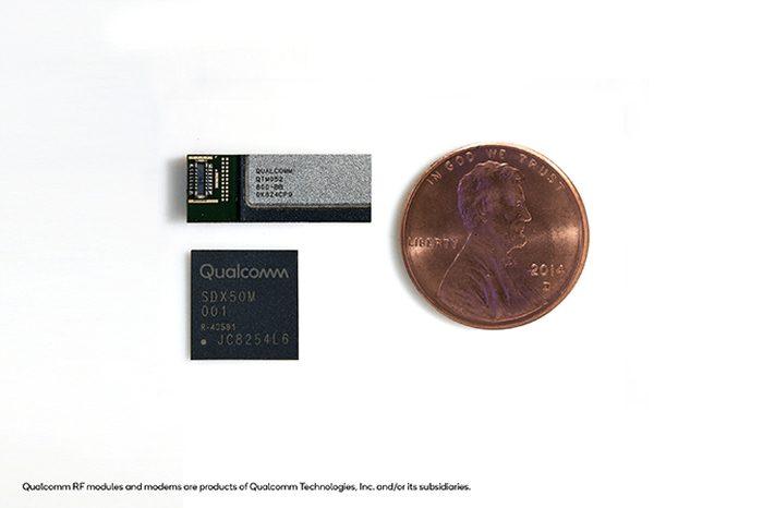 O QTM052 é do tamanho de uma moeda