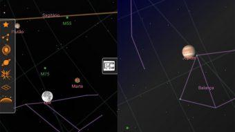 4 aplicativos para ver a posição da Lua, das estrelas e dos planetas no céu