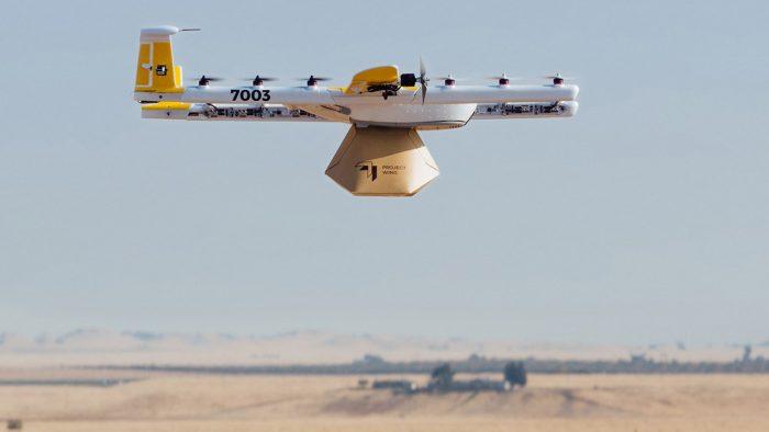 Wing é a divisão de entrega por drones da Alphabet