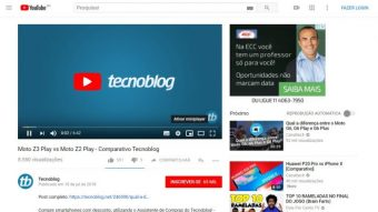 YouTube, lance logo o modo picture-in-picture no desktop