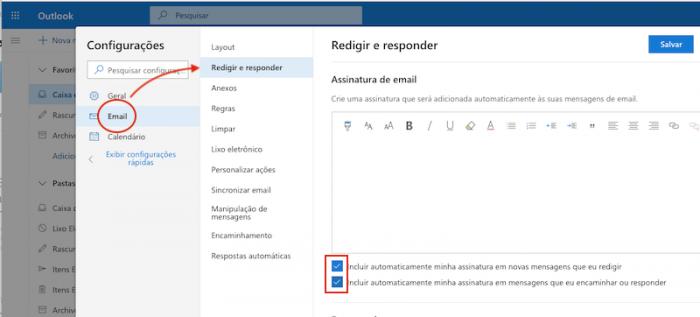 Assinatura Outlook Beta