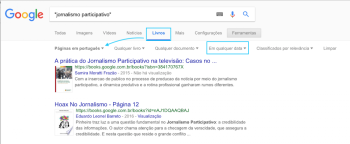 Busca Livros Universal Google