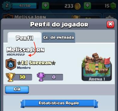 Clash Royale ID