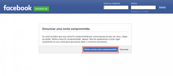 Facebook Hacked Logoff