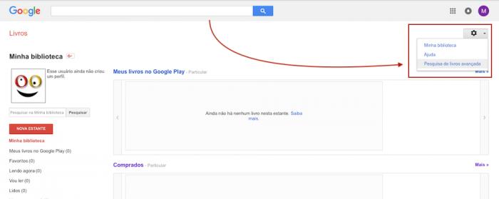 Google Livros Pesquisa Avançada
