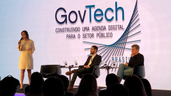 Os candidatos defenderam a identidade digital única durante o GovTech Brasil