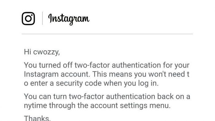 Alerta Instagram