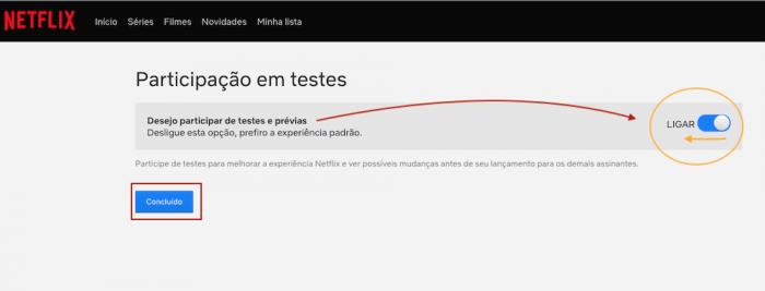 Netflix Opt Out Testes Anúncios