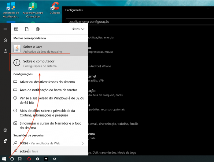 Sobre Windows 10