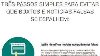 WhatsApp publica anúncio em jornais do Brasil para combater notícias falsas