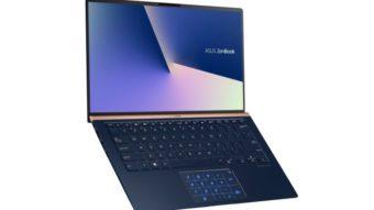 Asus anuncia ZenBook 13, 14 e 15 com bordas muito finas na tela