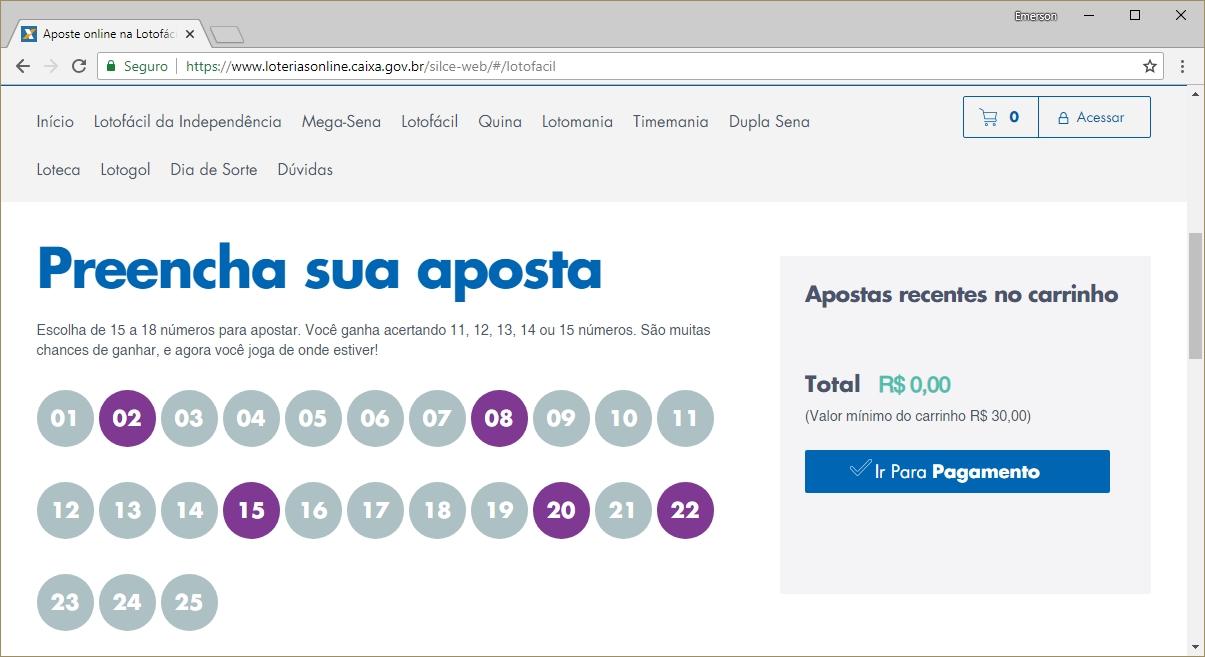 Apostas online mega