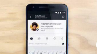 Como usar a conversa secreta do Messenger e encriptar os dados