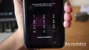Como mudar ou tirar senha de um celular Samsung Galaxy