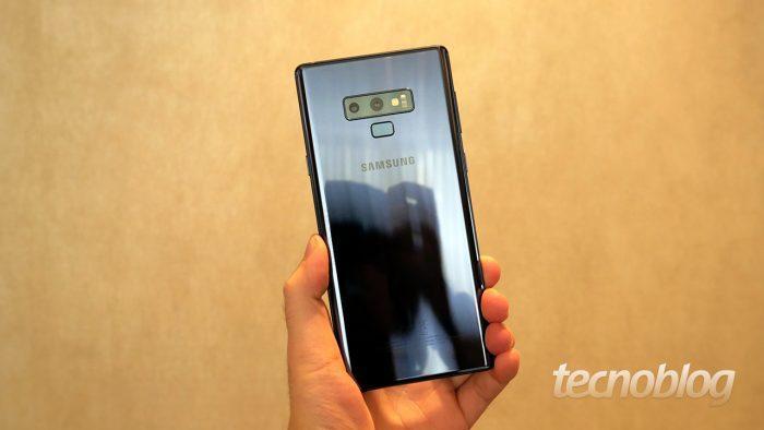 Samsung Galaxy Note 9 se queda atrás de iPhone X en las pruebas de rendimiento