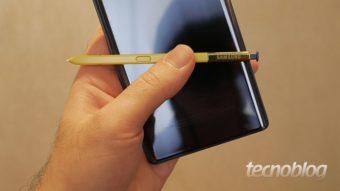Qual a diferença entre o Galaxy Note 9 e o Galaxy Note 8?