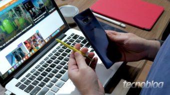 Samsung Galaxy Note 9 é atualizado para Android 10 com One UI 2.0 no Brasil