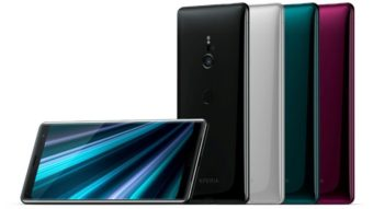 Xperia XZ3 é o topo de linha da Sony com mais aproveitamento de tela