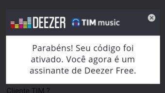 TIM Beta tem falha e migra clientes do Deezer Premium para plano Free