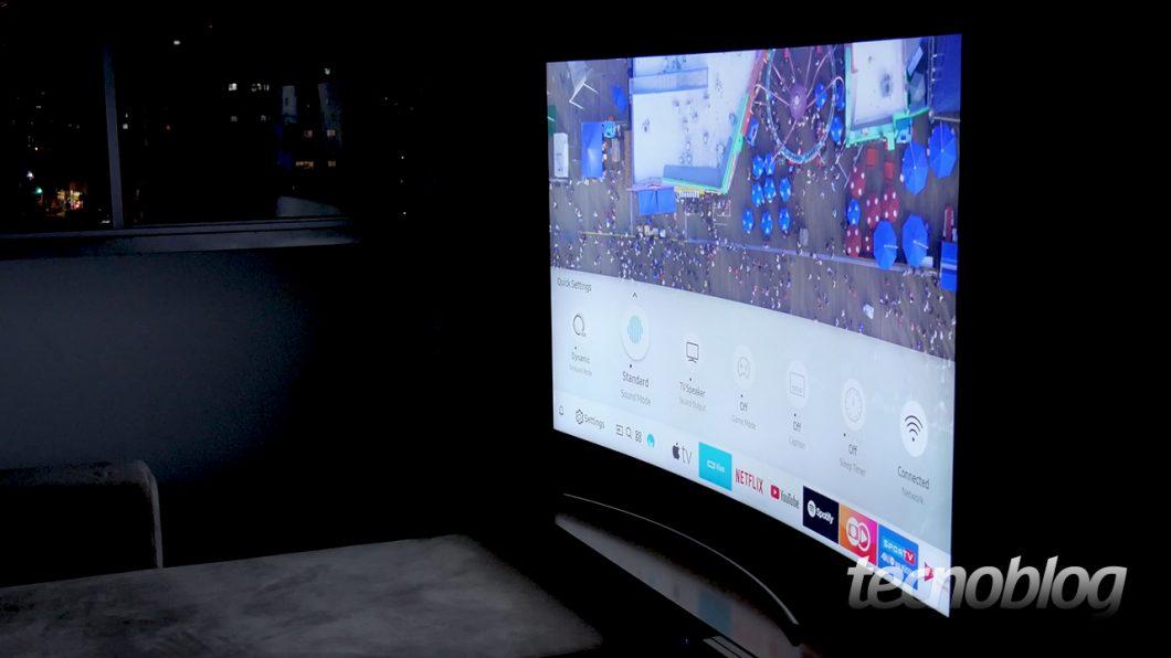 TV QLED Samsung Q8CN