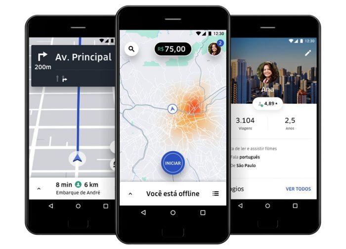Uber para motoristas