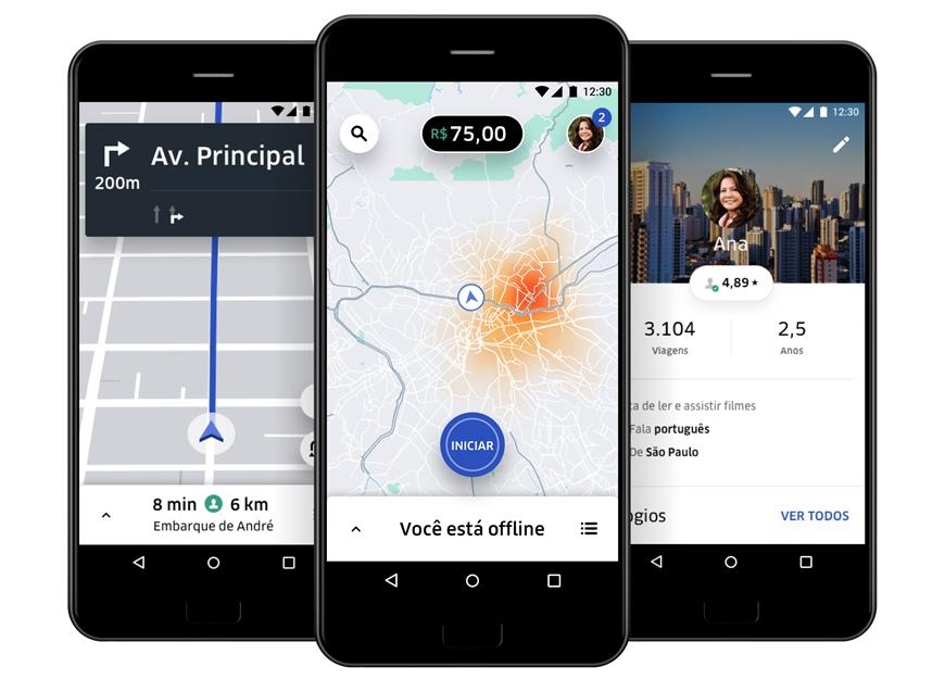 b3e870e63702 Uber lança novo app para motoristas no Brasil – Celular