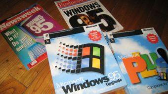 Microsoft celebra 25 anos do Windows 95 e de seu botão Iniciar