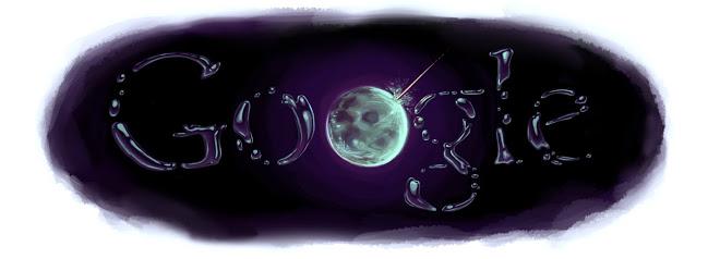 Agua na Lua Doodle Google