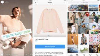 Instagram expande etiquetas interativas no Stories e cria canal personalizado de compras