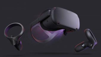 Oculus Quest é um headset sem fio de realidade virtual por US$ 399