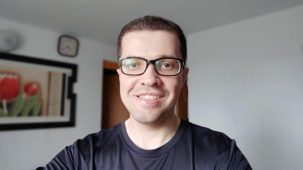 Selfie registrada com o Zenfone 5Z