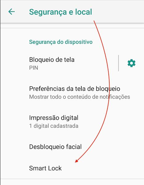 SmartLock no Android 01