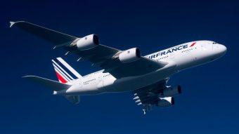 Air France libera WhatsApp de graça em voos