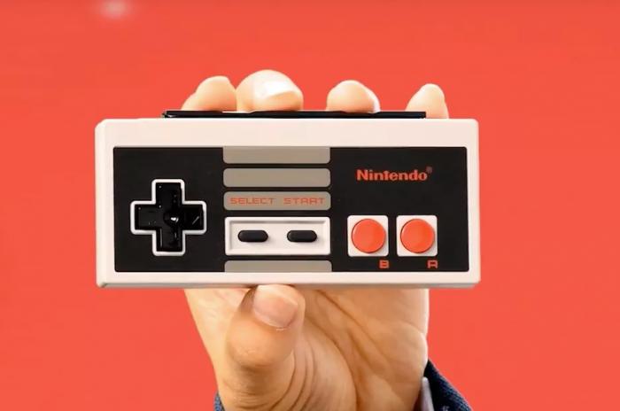 controle do NES para o Switch